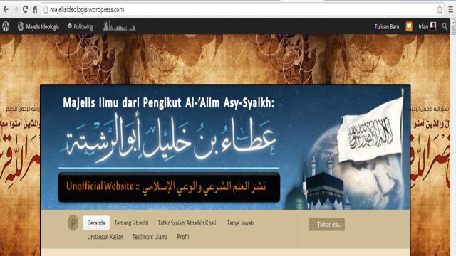 Blog Syaikh