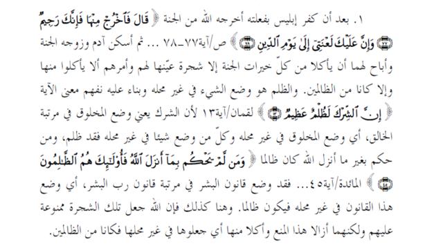 Tafsir Makna Zhalim